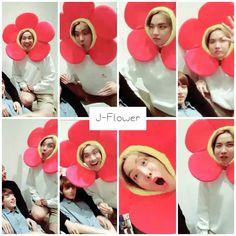 We welcome J-Flower the new Bangtan member! ❤ BTS ~chuseok greeting~ Live on Vapp #BTS #방탄소년단