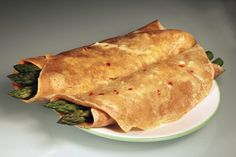Asparagus Crepes from The China Study Cookbook