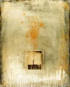 Sadatsugu Toboe ... photograph and oil on canvas, H : 100cm × L : 81cm - 1999