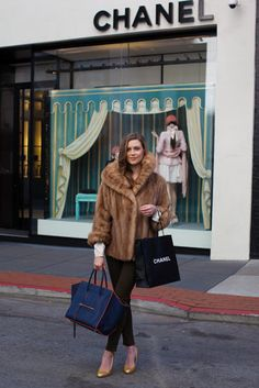 What To Wear on a Casual Chanel Shopping Trip - Street Style - Racked SF