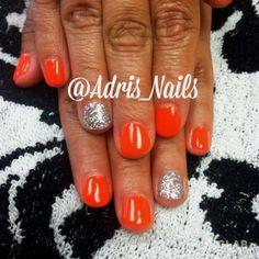 Spring Summer gel nails!  Follow me on Instagram:) @Adris_Nails…