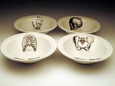 Anatomy dining set!