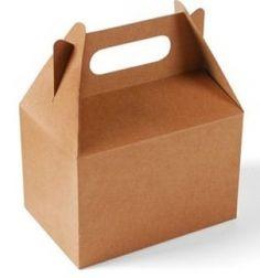 Geschenkboxen, kraftpapier, braun, L 28.5 x 16.4 x 24.6 cm
