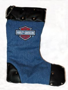 how to make a denim christmas stocking   Add it to your favorites to revisit it later.