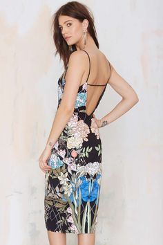 Keepsake Same Love Floral Dress | Shop What's New at Nasty Gal