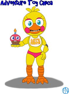 Adventure Toy Chica by FNAFNations