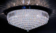 Plafon de cristal Mundo das Luminárias