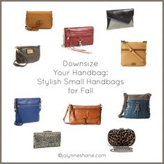 Downsize Your Handbag #FashionFriday