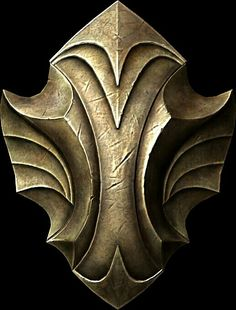 Auriel's Shield  BASE ARMOR:32 Weight:14 BASE VALUE:755 Additional Effects: Stores the energy of blocked attacks. Performing a power bash will release the stored energy.Class: Heavy Armor, Shield Upgrade Material: Refined Moonstone PERK: Elven Smithing