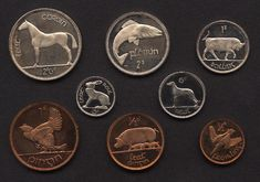 ireland coin set - Google Search
