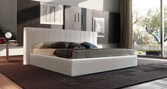 Alun Double Bed, Contemporary Bedroom Design at Cassoni.com
