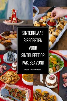 Lucky Food, Dutch Kitchen, Dutch Recipes, Cooking Recipes, Pumpkin Soup, What To Cook, Party Snacks, High Tea, Tray Bakes