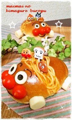 お子様ランチ・キャラ飯レシピ - NAVER まとめ Fruit Snacks, Lunch Snacks, Bento Box, Lunch Box, Cute Bento, Steamed Buns, Food Drawing, Food Art, Kids Meals