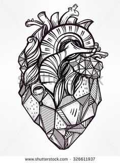 Mandala Heart Coloring Pages. 20 Mandala Heart Coloring Pages. Coloring Pages Color Coloringicture Easy Owlages Unique Heart Coloring Pages, Free Printable Coloring Pages, Coloring Books, Geometric Coloring Pages, Kids Coloring, Geometric Heart Tattoo, Geometric Lines, Tattoo Templates, Geniale Tattoos