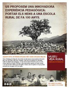 Campanya Ampliació del Museu de la Vida Rural. Revistes Educatives.