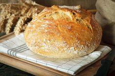 la pagnottina del pane senza impasto