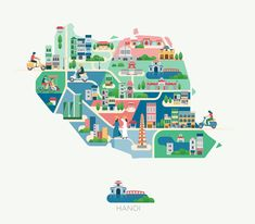 Jing Zhang - Hanoi map