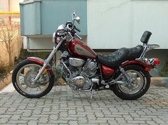 yamaha virago 1100 - The fifth
