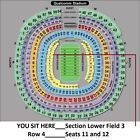 Ticket  2 CHARGERS vs. New Orleans SAINTS tickets__San Diego CA. 10-02__Sec. LF 3_Row 4 #deals_us