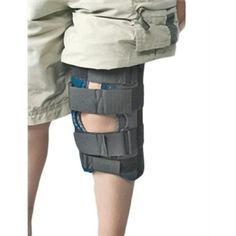 "RCAI Pediatric Knee Immobilizer RCAI Pediatric Knee Immobilizer from PRO2 Medical Supply Shop is breathable, washable wicking material that ""wicks"" away moistur"