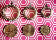 Origami Owl Locket size guide