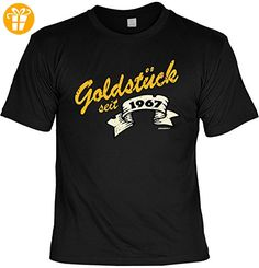 T-Shirt zum 50. Geburtstag Goldstück seit 1967 Geschenk zum 50 Geburtstag  50 Jahre