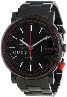 Gucci Unisex YA101348 G-Chrono Black PVD 60 Red Topaz Case Watch Gucci,http://www.amazon.com/dp/B00B0CCY4C/ref=cm_sw_r_pi_dp_is6Htb08GY0JXDJV