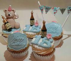 18th cupcakes