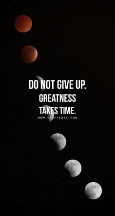 Do not give up. Greatness take time. Head over to www.V3Apparel.com/MadeToMotivate to download this wallpaper and many more for motivation on the go! / Fitness Motivation / Workout Quotes / Gym Inspiration / Motivational Quotes / Motivation