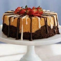 Black and White Angel Food Cake Recipe