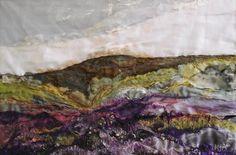Title:Summer Heather Artist:Laura Edgar Textiles & Mixed Media Original Art- Gallery 2