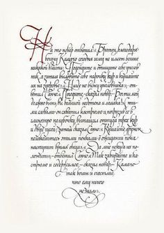 Planning An Old English Calligraphy Page Gardens The