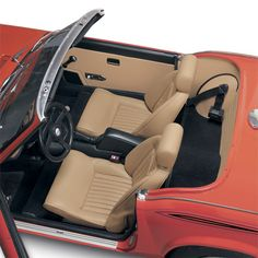 Complete step-by-step Triumph Spitfire interior installation instructions from Victoria British Ltd. Triumph Spitfire, Victoria British, Austin Healey, Rear Seat, Classic Cars, Trucks, Interiors, Kit, Sports