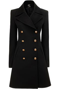Alexander McQueen - McQ Womenswear - 2013 Fall-Winter Look Fashion, Girl Fashion, Fashion Dresses, Womens Fashion, Fashion Today, Fashion Tips, Winter Coats Women, Coats For Women, Mode Glamour