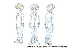 My Hero Academia TV Anime Posts Color Character Designs - News - Anime News Network:UK
