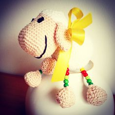 Crochet amigurumi sheep