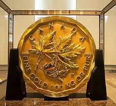 Information about the Royal Canadian Mint (RCM) and Canadian Bullion Coins, learn the History of the RCM and how it operates, includes a list of links to detailed pages about the Canadian Bullion Coins Gold Krugerrand, Gold And Silver Coins, Bullion Coins, Gold Bullion, Coin Collection Value, Maple Leaf Gold, Gold Price Chart, Canadian Coins, Gold Money