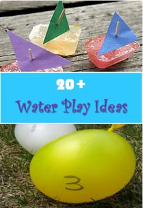 water play ideas Love the ice cube boats Outside Activities For Kids, Summer Activities For Kids, Fun Crafts For Kids, Summer Kids, Games For Kids, Diy For Kids, Toddler Preschool, Toddler Activities, Learning Activities