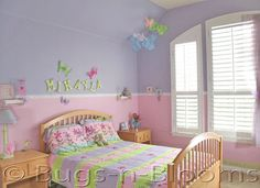 This Is A Girls Room With A Pink Purple Jj Room Pinterest Pink Purple Room And Girls