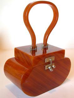 bakelite purse