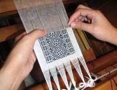 Rukai needle weaving