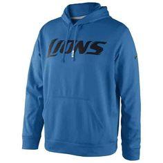 Detroit #Lions Nike KO Hooded Fleece. - $74.99