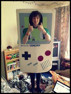 Nintendo Gameboy Costume - PJ Liguori ( kickthepj )