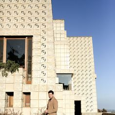 The Ennis House features in The GQ Amazing Spaces series hosted by Edgar Ramirez, Autumn 2017