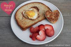 Heart in a Hole Breakfast | Mama.Papa.Bubba.