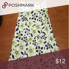 Lime skirt Aline skirt Cato Skirts A-Line or Full