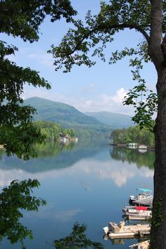 Lake Lure, NC  Dirty Dancing was filmed here headed here today!!!! Gonna spend two nights in a cabin on the Lake!!!! Gonna b fun.