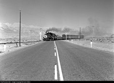 RailPictures.Net Photo: SP 9 Southern Pacific Railroad Steam 4-6-0 at Keeler, California by John West