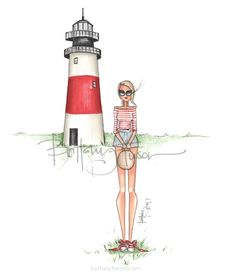 individual print, packaged in a clear sleeve with cardboard backing Ballet Fashion, Fashion Art, Style Fashion, Fashion Outfits, Lighthouse Drawing, To Do Planner, Fairy Drawings, Fashion Sketches, Fashion Illustrations