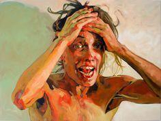 OMG, acrylic on canvas, 120 x 160 cm, 2007